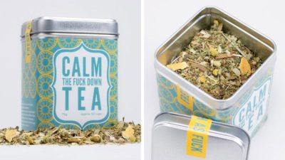 "Stressed Out? It's Time To Drink Some ""Calm The F**K Down"" Tea"
