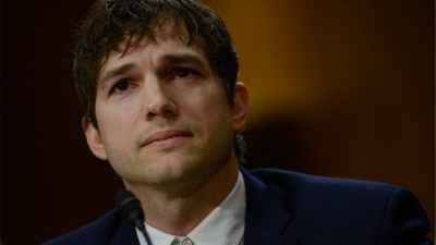 Ashton Kutcher Gives Emotional Testimony At Hearing To End Human Trafficking [Watch]