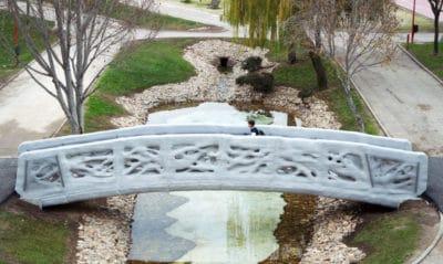 World's First 3D-Printed Pedestrian Bridge Installed In Milan