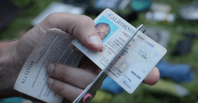 He Cut Up His Driver's License And Social Security Card. The Reason Why Is Inspiring…