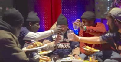 Good Samaritan Throws Super Bowl Party For The Homeless [Watch]