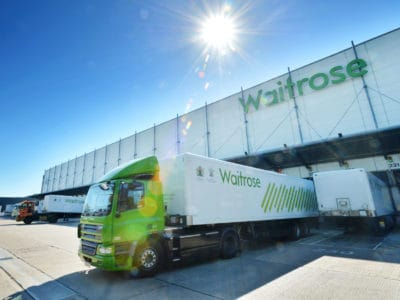 British Supermarket Chain Launches Trucks Powered By Vegetable Waste