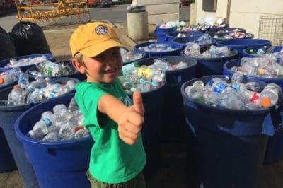 This 7-Year-Old Boy Turned A Passion For Recycling Into A Full-On Business