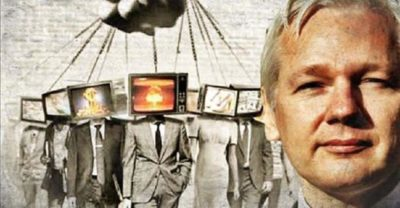 Assange Exposes The Truth About Corporate Media: 'You Are Reading Weaponized Text