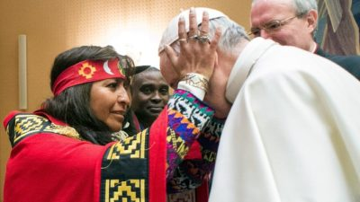 Pope Francis: Native Americans Should Have Final Say About Their Land