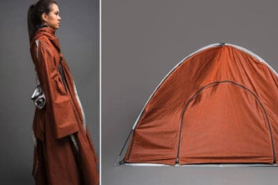 Inspiring Young Woman Designs Jackets That Turn Into Tents For Refugees