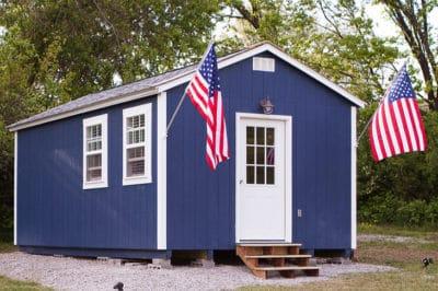 Kansas City Nonprofit Builds Village Of Tiny Homes For Homeless Veterans