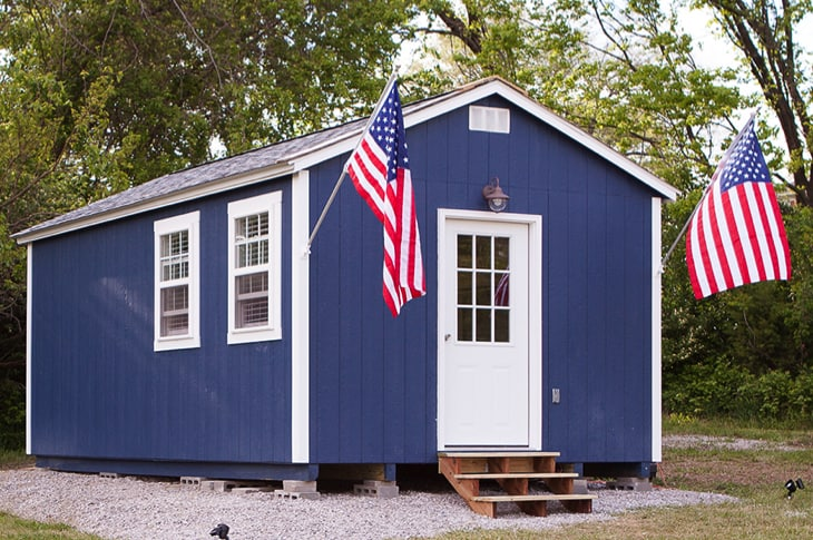 kansas city nonprofit builds village of tiny homes for homeless