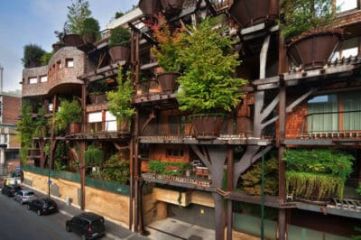 Urban Treehouse Apartments Reduce Noise And Air Pollution In Italy [Photos]