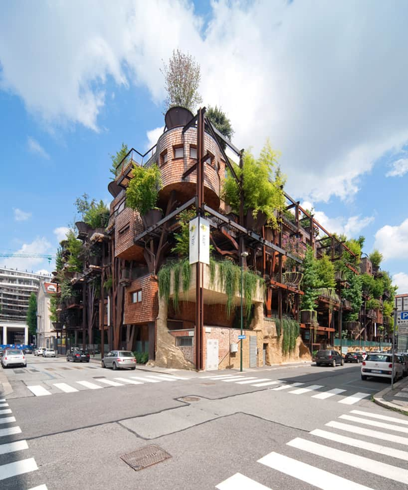Casa Verde Apartments: Urban Treehouse Apartments Reduce Noise And Air Pollution