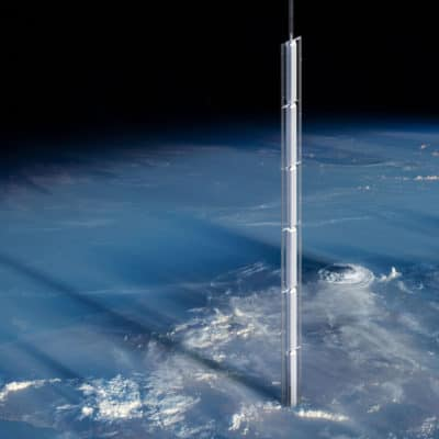 Analemma Tower: World's New Tallest Skyscraper Will Hang From Orbiting Astroid