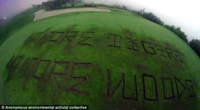 Trump Golf Course Vandalized Due To Administration's 'Blatant Disregard' For The Environment