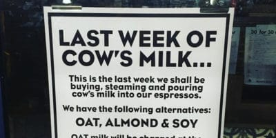 London Cafe Ditches Dairy After Owners Watched THIS YouTube Video [Watch]