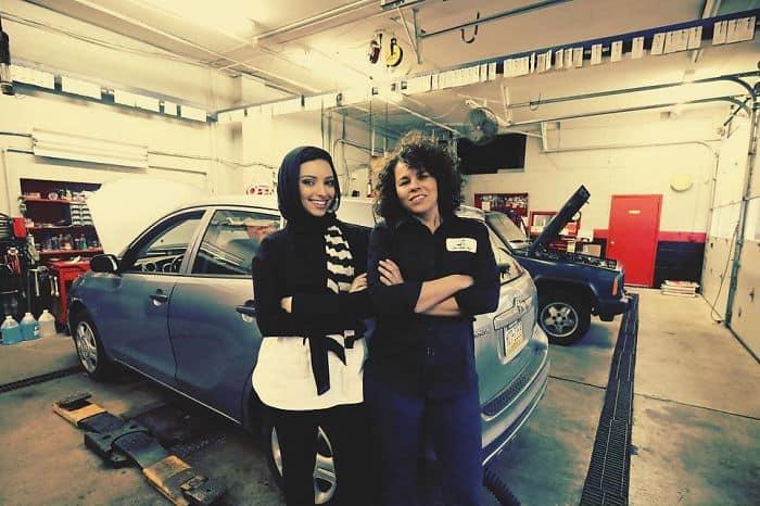 Female Auto Shop