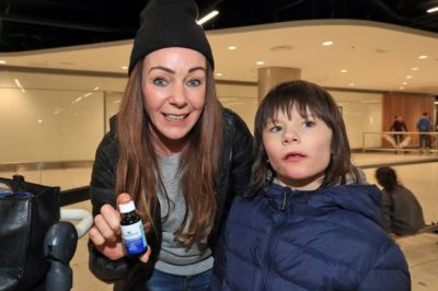 Billy Caldwell Returns To Ireland After Successful Cannabis Treatment In California