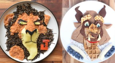 Creative Mom Turns Son's Organic Meals Into Favorite Cartoon Characters