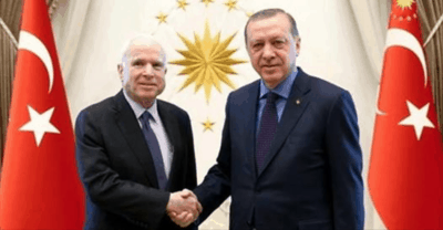 Water Supply In Syria Cut Off After John McCain Meets With Turkish President