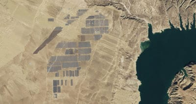 NASA Satellite Images Reveal World's Largest Solar Farm