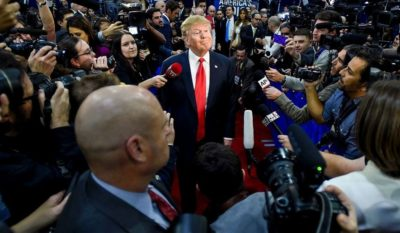 "Study: Press Coverage of Trump's First Month 88 Percent ""Hostile"""