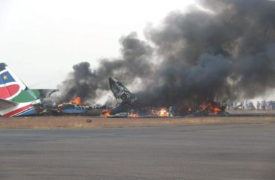 Passenger Plane Crash Landed And Burned But All 49 Aboard Survived
