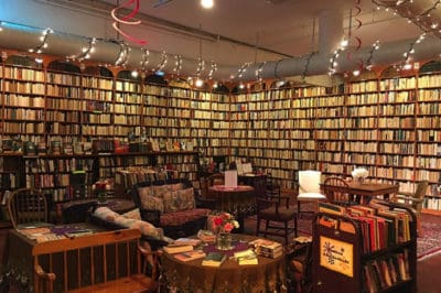 "This Bookstore Flipped The Male-Authored Books To ""Illustrate The Gender Gap"""