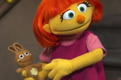 Sesame Street Just Unveiled Their Newest Muppet: A Little Girl Who Has Autism