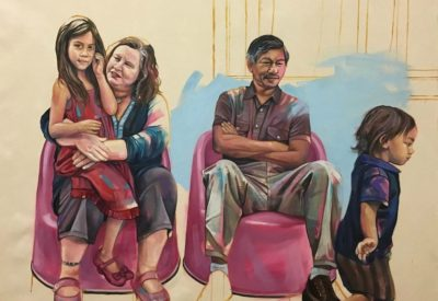Beautiful Paintings Depict Everyday Happenings For Interracial Couples