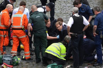 Breaking: 5 Dead, 40+ Injured In Terrorist Attack Outside British Parliament