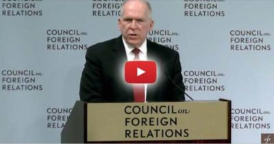 Media Silent as CIA Director Admits Plans of Aerosol Spraying for Geoengineering