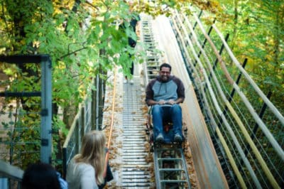 """Child At Heart"" Spent The Last 40 Years Hand-Building Amusement Park In The Forest"
