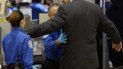 "TSA Introduces ""More Invasive"" Pat-Downs"