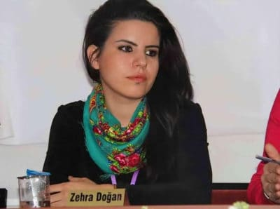 Artist Zehra Doğan Sentenced To Almost Three Years In Prison For Painting Of Kurdish Town Attack