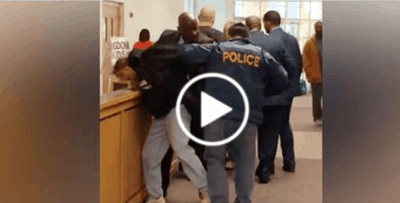 Flint Residents Ask For Clean Water So Cops Assault And Arrest Them [Watch]
