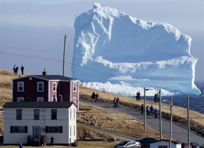 Giant Iceberg Is Floating Past Canada, And It's 50 Ft Larger Than The One That Sank Titanic