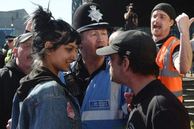This Young Woman Literally Laughed In The Face Of White Supremacy [Photos]