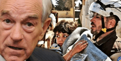 Ron Paul: Syrian Chemical Attack Is A 'False Flag' Promoted By Media 'Propaganda Machine'