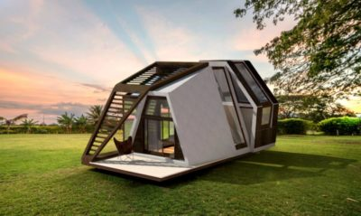 Minimalist Ready-Made Tiny Home Can Be Shipped To Any Destination
