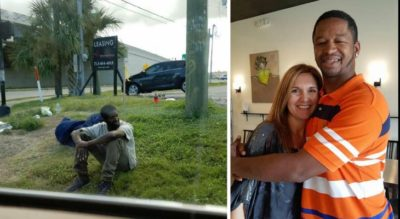 She Saw This Homeless Man Every Day For 3 Years. Then One Day, She Changed His Life…