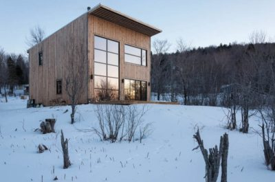 Carpenter Builds Timber Cabin With Stunning Views On Minimal Budget