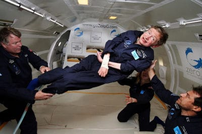 Stephen Hawking Is Going Into Space