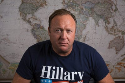 InfoWars Host Alex Jones In Custody Battle For Kids, Admits He's A Fraud