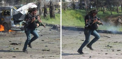 War Photographer Stops Shooting To Save Injured Boy, Weeps After Realizing What Happened [NSFW]