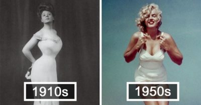"How The ""Ideal"" Female Body Has Changed Over The Last 100 Years"