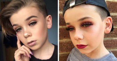 10-Year-Old Becomes Internet Sensation For His Enviable Makeup Skills
