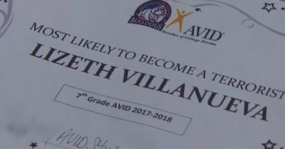 "Teachers Give 13-Year-Old Girl ""Most Likely To Become A Terrorist"" Award"