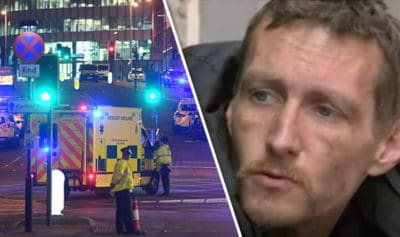 Homeless Man Held Woman In His Arms As She Died Following Manchester Attack