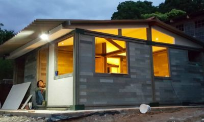 $6,800 House Made From Recycled Plastic Bricks Was Constructed In 5 Days