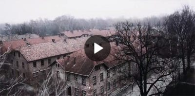 This Man Flies A Drone Over Auschwitz. What The Camera Caught Is Spine-Chilling! (Video)