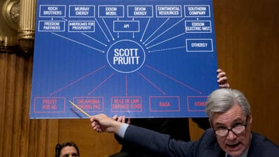 EPA Head Scott Pruit Sued Over Numerous Ties To Energy Industry