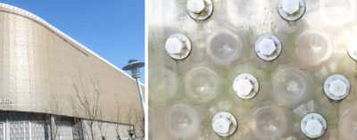 Building Made From 1.5 Million Plastic Bottles Can Withstand Fires And Earthquakes